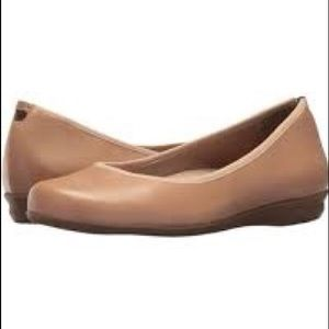 Earthies Nude Premium Soft Leather Ballet Shoes